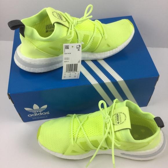 a7aae0db1b5d Adidas NEW Arkyn Sneaker Glow Neon Solar Yellow
